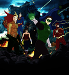 The Avenging JLA by kyomusha