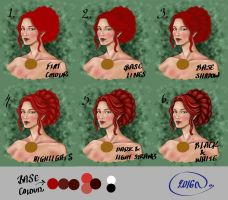 Hair Tutorial by Yagellonica