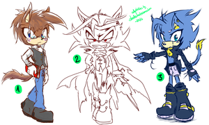 Sonic Adoptables #17 - cLOSED by shadowhatesomochao