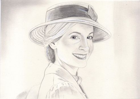 Anna Bates (Downton Abbey Drawing) by julesrizz