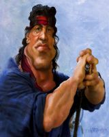 Rambo by wooden-horse