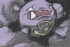 Pokemon Acanthite TCG - Weezing by Concore