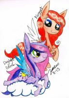 Commish: Daylight And Nugget by chillytuna929
