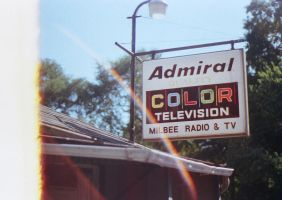 Admiral Color Television by AcceptedOutcast