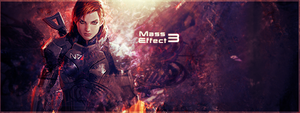 Mass Effect 3 Signature by alex8546