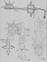Keyblades 2 by TheRealNeoxis