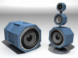 speaker check final vray by master3d
