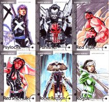 Fleer Retro sketch cards 4 by CRISTIAN-SANTOS