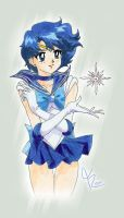 Sailor Mercury by Tiiara