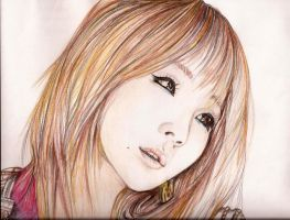 CL in Pencil Crayon by topistops