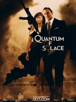 Quantum of solace poster by agustin09