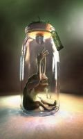 blind bottle critter vray by emaciate