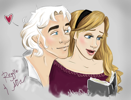 Alice and Reggie by AnnieIsabel