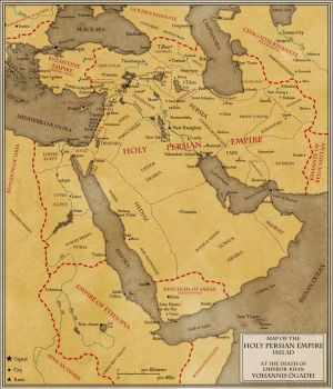 Holy Persian Empire by Sapiento