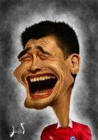 Yao Ming by lepeART