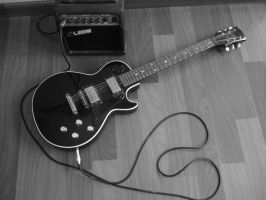Electric guitar by FlowerColour