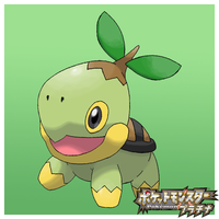 Turtwig - Ultimate Sugimori by ztak1227