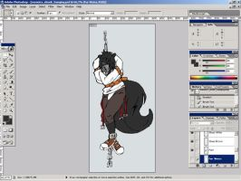 WIP Meonics - Hanging Skunk by PepeTheSkunk