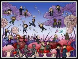 Superwholock On Mushrooms by blackbirdrose