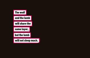 The Wolf and the lamb by MathieuOdin
