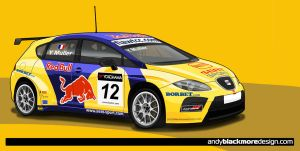 First vexel - SEAT Leon WTCC by andyblackmoredesign