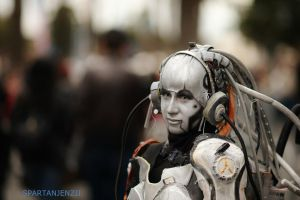 Starcraft 2: Wings of Liberty - Adjutant Cosplay # by SpartanJenzii
