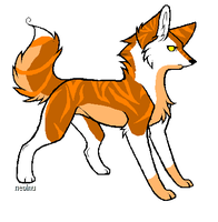 Wolf Adoptable 3 CLOSED by WolfStarr7