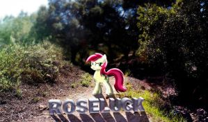 Roseluck Nature Wallpaper by InternationalTCK