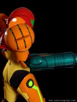 Metroid: Samus Side View II by Yukilefay