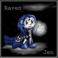 Raven:another new techneque by Jennifire