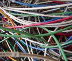 Colorful Electrical Wires 3 by FantasyStock