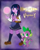 HARMONIA I - Twilight y Spike by WingzemonX