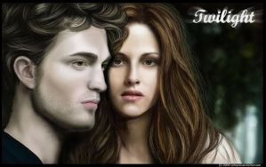 Edward and Bella by Calaymo
