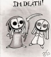 I'm Death! by MissPoe