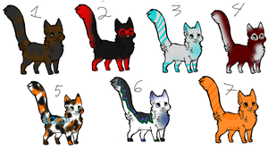 Cat Adopts, Cheap and OPEN by AnimeWolveslover