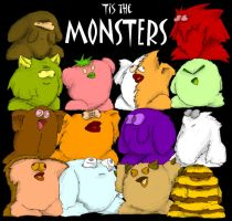 The Monsters by MadGoblin