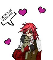 Grell Sutcliff - Complete by ArcaneEnforcer