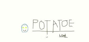 Potato head by Weirddudeguy