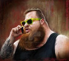 Action Bronson by Bigboithomas84