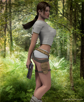 Lara in the wild by JpauCroft