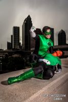 Green Lantern Shoot - 04 by PAPANOTZZI