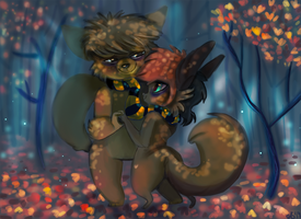 Autumn Dance by TheStripedKit