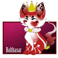 Balthasar - The King of Hearts by iRaincloud