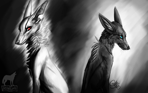 Of Darkness and Light by InstantCoyote