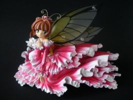 Sakura Butterfly by dragonwings83