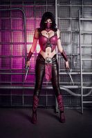 Mileena MKX cosplay by Jane-Po