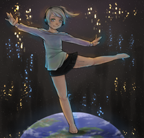 I'm on top of the world ay by HellKitten2204