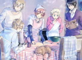 Kimi to Boku: Kitchen Time by Lancha