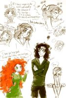 I Love Your Fluffy Hair Dude by BrokenDeathAngel