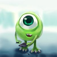 Monster University : Mike by Sa-Dui